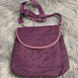 Thirty-One purple Crossbody purse